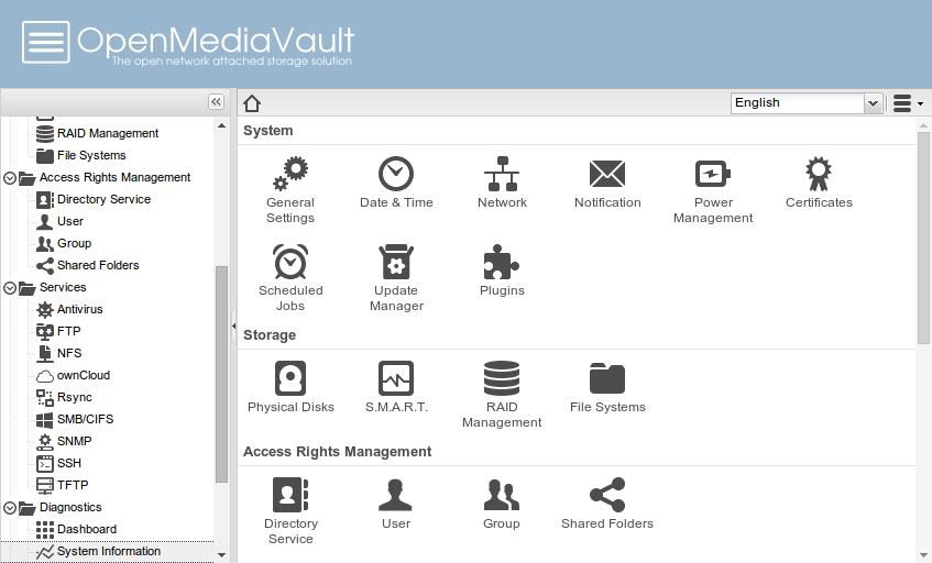 Картинки по запросу OpenMediaVault